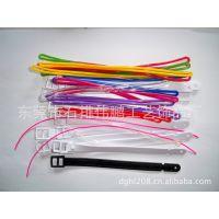 工厂大量供应PVC彩色透明绳(现货不限量起批可混批)