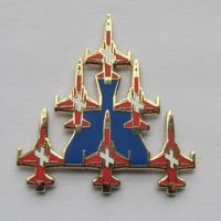 厂家加工订做烤漆珐琅飞机徽章、金属工艺品、奖章