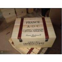 供应厂家直销~出口酒箱 多支装木制酒盒定做红酒包装盒 松木红酒箱
