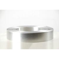 供应铝本色亮光银发光字铝型材边带