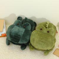 新款可拆洗防爆暖手袋 卡通鳄鱼双插手毛绒充电热水袋 暖水袋批发