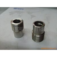 不锈钢外丝管接头 NPT管丝接头加工 直螺纹 锥螺纹PG/G接头