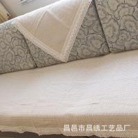 2015新款热销 透气舒适棉麻沙发垫 坐垫夏季 支持订做