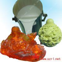 供应耐烧耐高温树脂工艺品模具硅橡胶