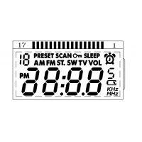 供应TN型LCD液晶屏收音机专用2202