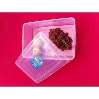 长方形透明塑料保鲜盒批发 干货收纳盒 工业产品包装盒 塑料盒