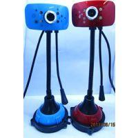供应酷逸荷花803 数码高清电脑摄像头 带麦克风 夜视视频摄像头 视频