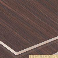 专业品质 3-9mm刨花板 科技木皮紫檀616钢琴漆木饰面 衣柜板