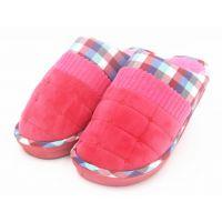 时尚韩版室内外棉拖鞋 潮流加厚情侣鞋秋冬季居家拖鞋糖果色彩