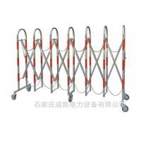 不锈钢伸缩安全围栏可移动片式伸缩围栏1.2*2.5米