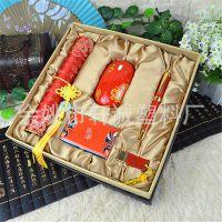 公司周年庆采购中国红特色文化礼品送领导客户实用有面子的礼物