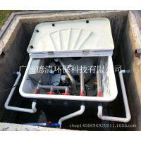 地埋式一体化过滤系统,地埋式污水处理设备,地埋式一体过滤装置