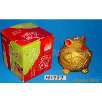 供应陶瓷工艺品(金鼠储钱罐)H1757