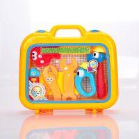 正品富达尔儿童过家家玩具维修工具套装FDE606