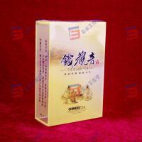 订做外贸印刷PVC盒 PVC透明彩盒 铁观音茶叶盒