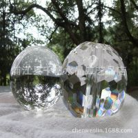 厂家直销 批发超大400mm 蜂窝面水晶球 装潢用品