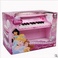 限量 外贸迪士尼高档儿童木质仿真钢琴 早教益智乐器礼品玩具