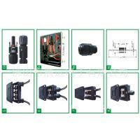 32A450大电流大功率连接器 户外8级防水连接器 连接座防水功能