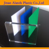 color and clear acrylic sheet