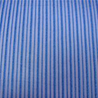 供应涤纶网眼布 经编条纹提花网布小直条纹网