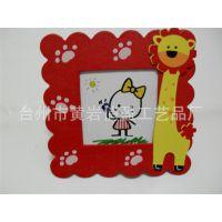 韩国创意文具批发 卡通 可爱 木制相框 大号动物相框 放照片