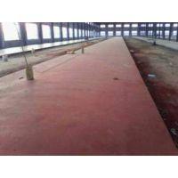 临沭附近金刚砂地坪材料标杆施工工程