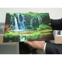 亚克力UV平板喷印 透明亚克力UV打印设备数码印刷机深思想科技