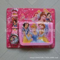 Disney princess 迪士尼公主 白雪公主手卡通表钱包套装礼品套装