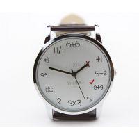 计算表盘 益智儿童学生手表 皮带学生表  男手表   批发手表