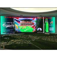 自贡酒店P6全彩LED显示屏安装价格