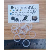 YF0713广东硅胶O型圈深圳透明硅胶O型圈线径1mm