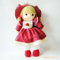 批发供应挂布娃娃 洋娃娃 挂绳娃娃 站姿挂布