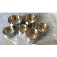双金属镶嵌轴套/FZ-5B/DF-5A/F5B双金属镶嵌自润滑轴承/外钢内铜衬套