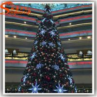 厂价直销圣诞装饰场地布景PVC圣诞树 商场装饰场地布景诞用品