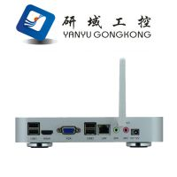 HTPC机箱  1037u和I3配置  研域工控  超薄机箱 瘦客户机 HTPC33