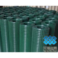 供应涂塑电焊网采用先电镀和先热镀铁丝焊接后,再用PVC粉末经高温,自动生产线浸涂而成