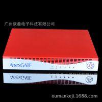 1U260L-A非标工业机箱 网络安全机箱 软路由防火墙机箱