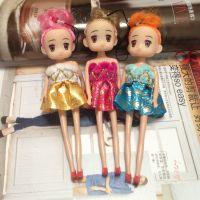 原创16cm 时尚迷糊娃娃 手机挂件 钥匙扣 包包挂件