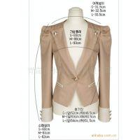 定做春季新款韩版修身小西装 薄款小西服女西服 时尚职业装批发