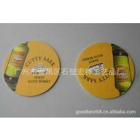 【热销】圆形8*8cm环保吸水纸杯垫