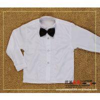 花童衬衫 儿童衬衫  白色礼服衬衣 衬衫