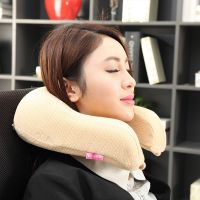 唯眠纺u型护颈枕 护脖子枕头颈椎保健枕 慢回弹记忆枕 枕头批发