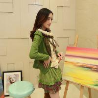 2014秋冬新款套装韩版修身甜美小西装外套配蕾丝镶钻连衣裙女装