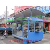 桂林便民售货亭广告灯箱制作厂家 东兴移动式售货亭销售中心