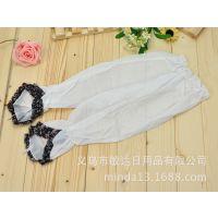 【冲销量】夏季新款骑行雪纺防晒袖套 蕾丝碎花袖口  一件起批