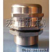 专业生产不锈钢电缆固定头、防水接头