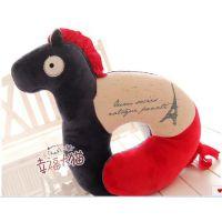 批发供应 metoo咪兔 可爱创意小马毛绒公仔抱枕 卡通U型护颈枕