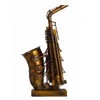 爱尚工艺品 现代艺术金属品展厅装饰品 创意艺术品大萨克斯摆件