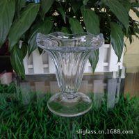 供应透明玻璃雪糕杯 果汁杯 奶茶杯 咖啡杯 沙冰杯冷饮店必备批发