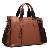 高端男士手提包代加工 包包生产厂家 男包贴牌 品牌公文包加工BA0701